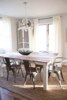 Modern farmhouse dining room decorating ideas (33)