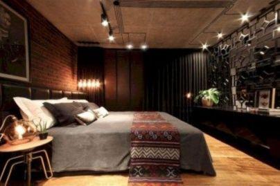 Nice loft bedroom design decor ideas 01