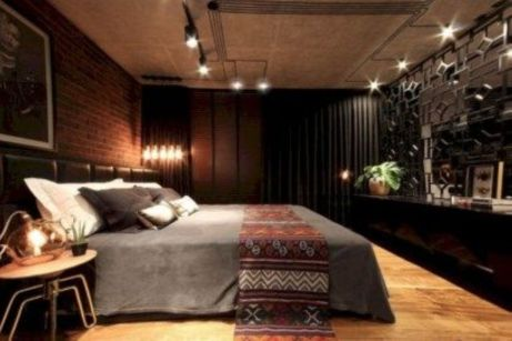 Nice loft bedroom design decor ideas 01