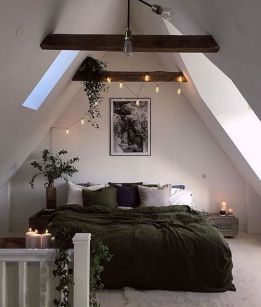 Nice loft bedroom design decor ideas 02