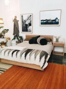 Nice loft bedroom design decor ideas 10