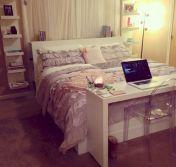 Nice loft bedroom design decor ideas 11
