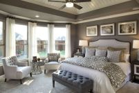 Nice loft bedroom design decor ideas 12