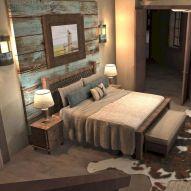 Nice loft bedroom design decor ideas 17