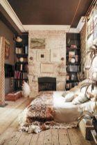 Nice loft bedroom design decor ideas 27