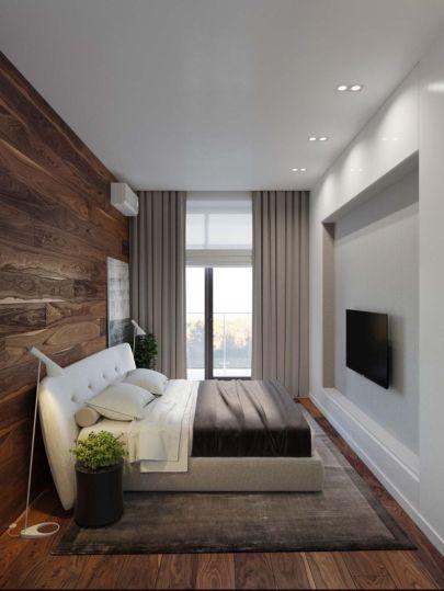 Nice loft bedroom design decor ideas 36