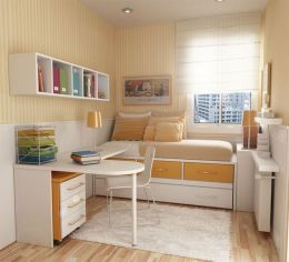 Nice loft bedroom design decor ideas 38