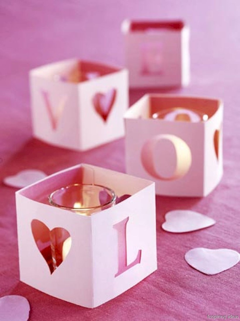 Romantic diy valentine decorations ideas 06