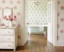 Simple and cozy farmhouse wooden bathroom inspirations ideas 34