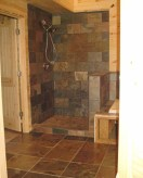 Simple and cozy farmhouse wooden bathroom inspirations ideas 41