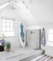 Stunning attic bathroom makeover ideas on a budget 22