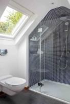 Stunning attic bathroom makeover ideas on a budget 23