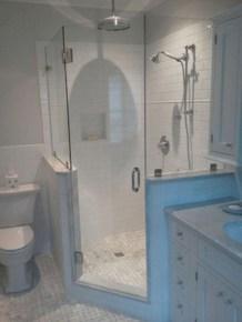 Stunning attic bathroom makeover ideas on a budget 31