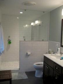 Stunning attic bathroom makeover ideas on a budget 32