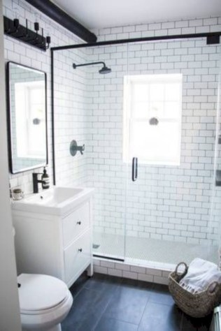 Stunning attic bathroom makeover ideas on a budget 38