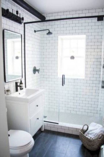 Stunning attic bathroom makeover ideas on a budget 38
