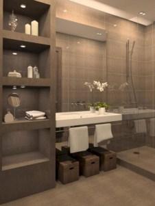 Stunning attic bathroom makeover ideas on a budget 42