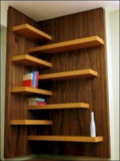 Stunning corner shelves decoration ideas 04