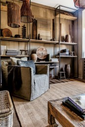 Stunning corner shelves decoration ideas 21
