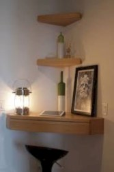 Stunning corner shelves decoration ideas 29