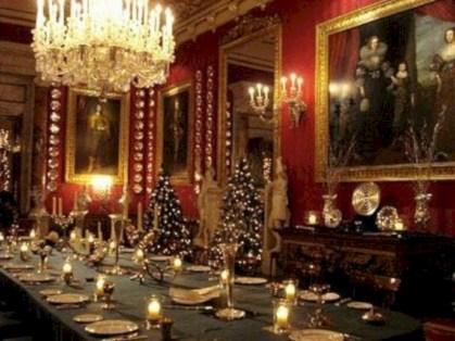 Vintage victorian dining room decor ideas (15)