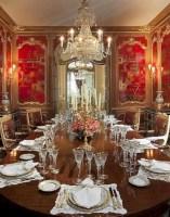 Vintage victorian dining room decor ideas (23)