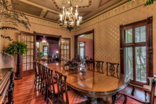 Vintage victorian dining room decor ideas (30)