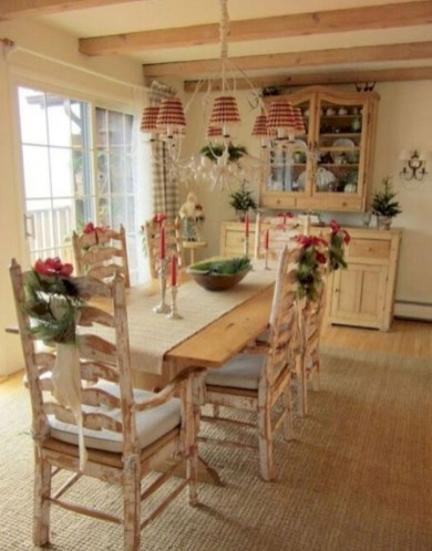 Vintage victorian dining room decor ideas (32)