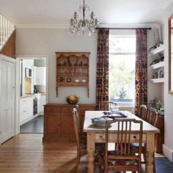 Vintage victorian dining room decor ideas (35)