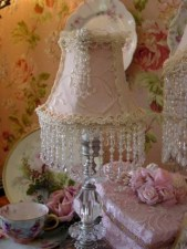 Vintage victorian lamp shades ideas for your bedroom (1)
