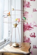 Vintage victorian lamp shades ideas for your bedroom (16)