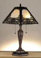 Vintage victorian lamp shades ideas for your bedroom (2)