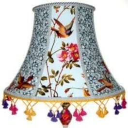 Vintage victorian lamp shades ideas for your bedroom (26)