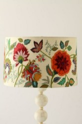 Vintage victorian lamp shades ideas for your bedroom (5)