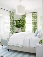 Wonderful green bedroom design decor ideas (20)