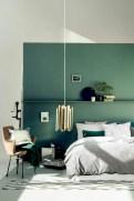Wonderful green bedroom design decor ideas (27)