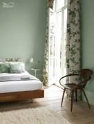 Wonderful green bedroom design decor ideas (28)