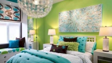Wonderful green bedroom design decor ideas (3)