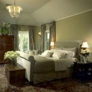 Wonderful green bedroom design decor ideas (33)