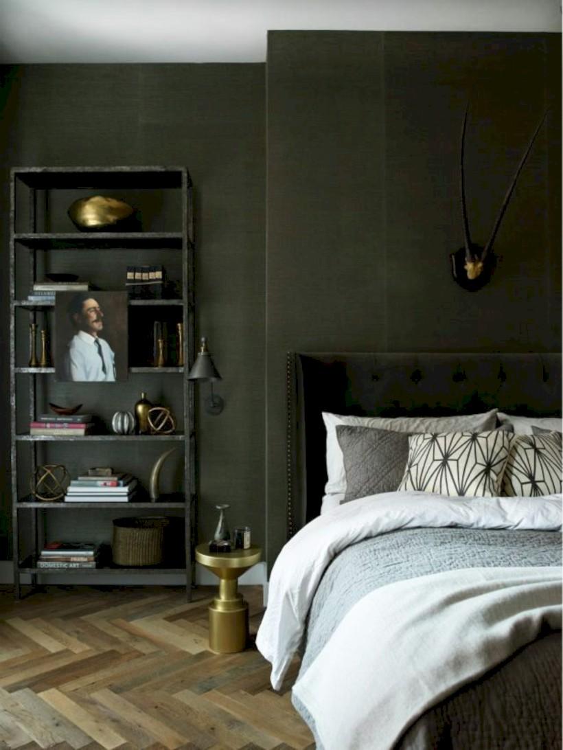 Amazing Wonderful Green Bedroom Design Decor Ideas (7)