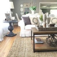 Beautiful french country living room ideas 33