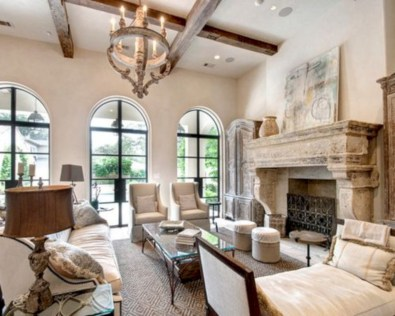 Beautiful french country living room ideas 36