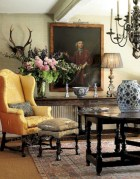 Beautiful french country living room ideas 38