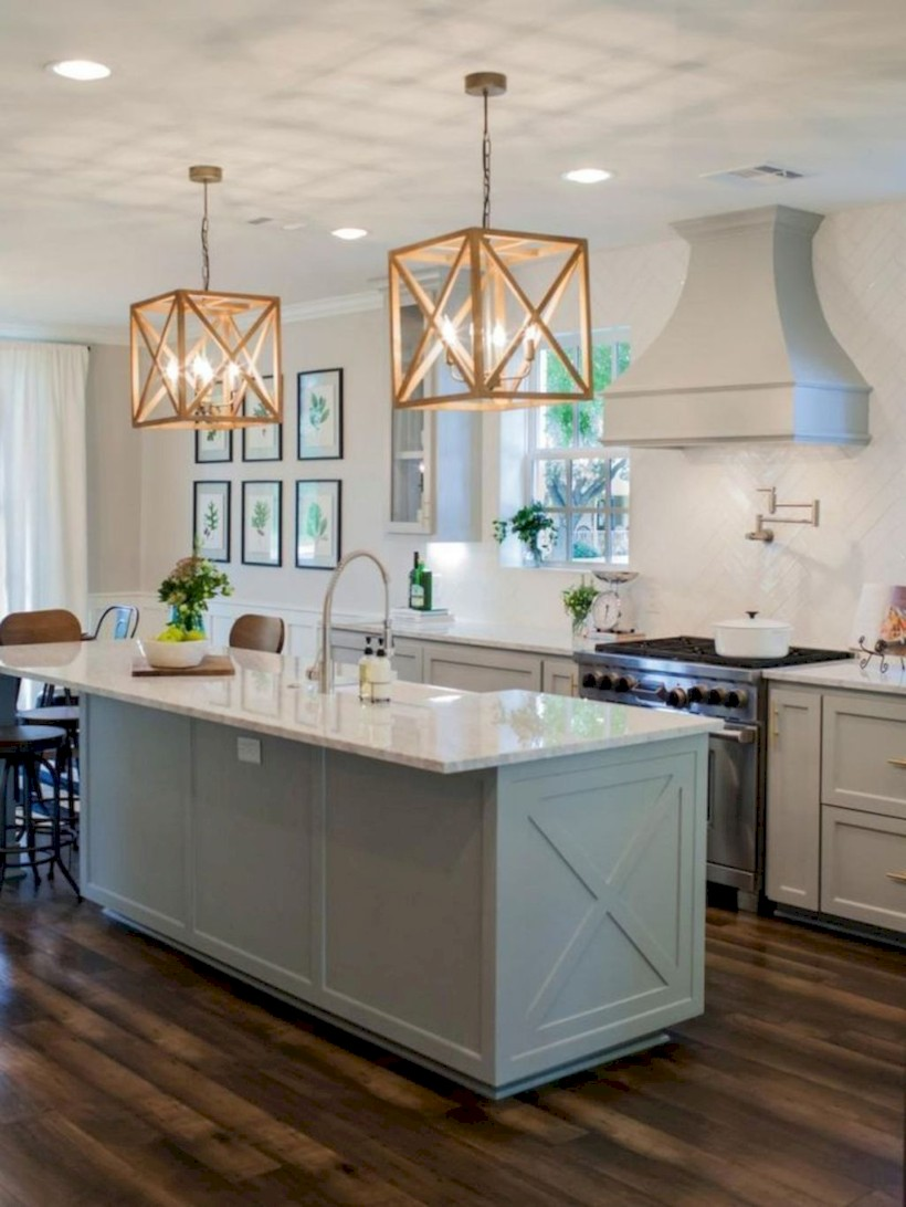 Beautiful gray kitchen cabinets design ideas 02