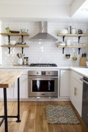 Beautiful gray kitchen cabinets design ideas 03