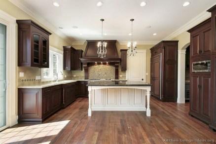 Beautiful gray kitchen cabinets design ideas 19