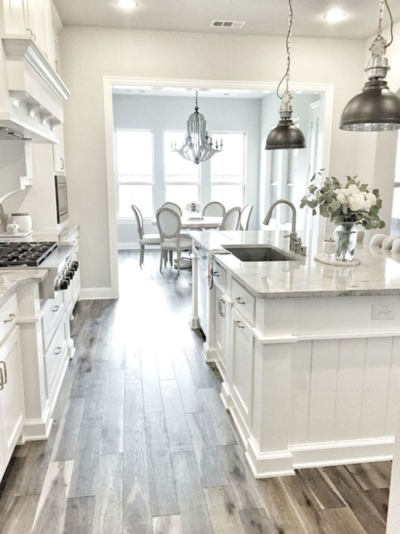 Beautiful gray kitchen cabinets design ideas 39