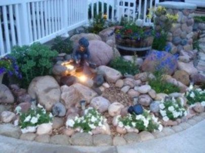 Beautiful rock garden landscaping ideas 03