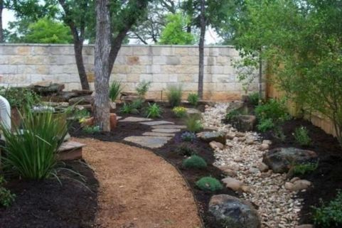 Beautiful rock garden landscaping ideas 10