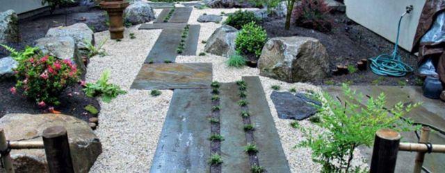 Beautiful rock garden landscaping ideas 28